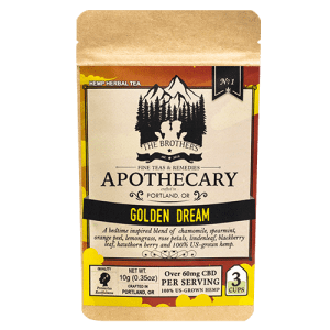 Golden Dream CBD Tea