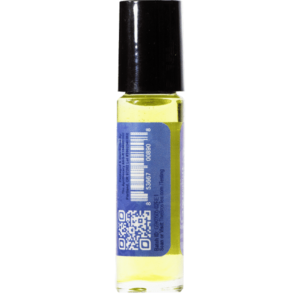 Restful CBD Essential Oil Side 2