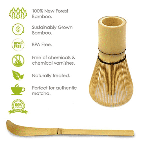 Matcha Whisk and Spoon