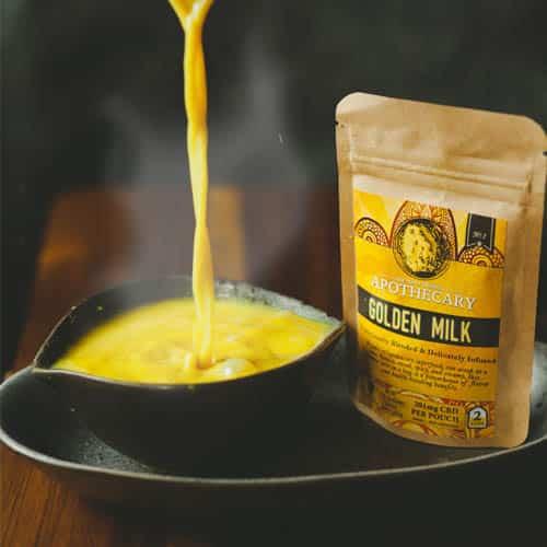 CBD Golden Milk Turmeric Latte