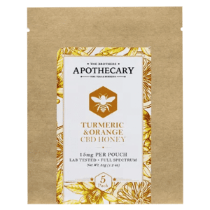 Turmeric Orange CBD Honey by The Brothers Apothecary