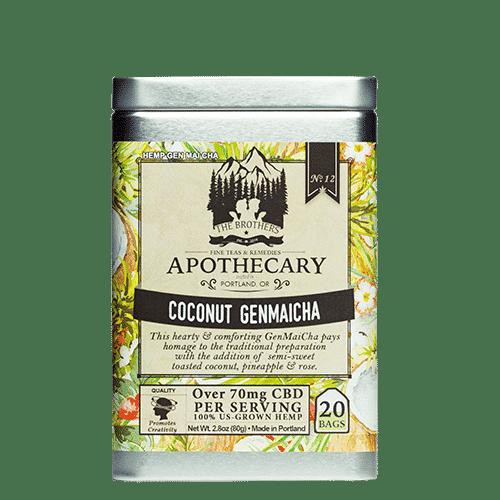 Coconut Genmaicha CBD Tea Tin