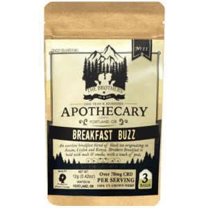 Breakfast Buzz CBD Tea