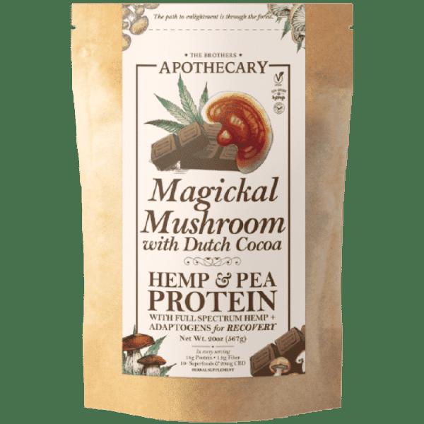 Magickal Mushroom Chocolate CBD Protein