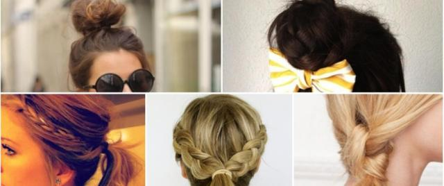 5 must-try 5-minute rainy day hairstyles | the brunette diaries
