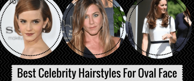 5 of the best celebrity sported hairstyles for oval face