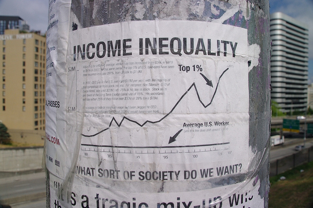 It is important to place this scandal within a context of rising income inequality.