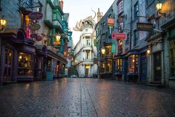 wizarding world at universal studios