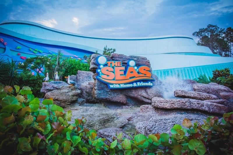 Walt Disney World's The Coral Reef Review reviews disney-world disney dining