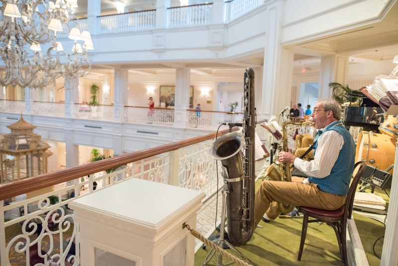 Grand Floridian Lobby - Renting DVC Points