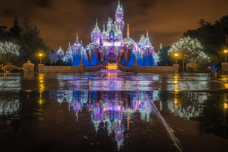 Christmas at Disneyland - Castle