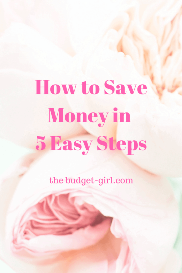 How to Save Money in 5 Easy Steps