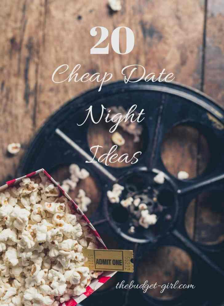 20 Cheap Date Night Ideas