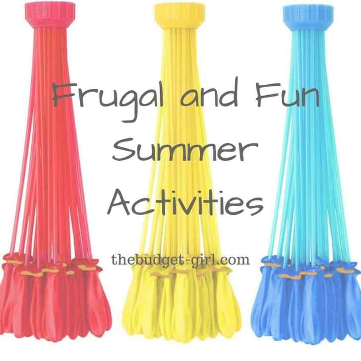 Fun & Frugal Family Summer Activities