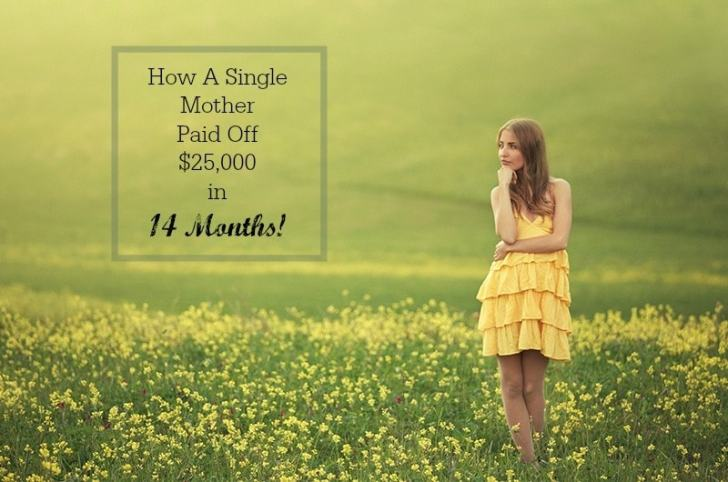 How a Single Mom Paid off $25,000 in 14 Months!