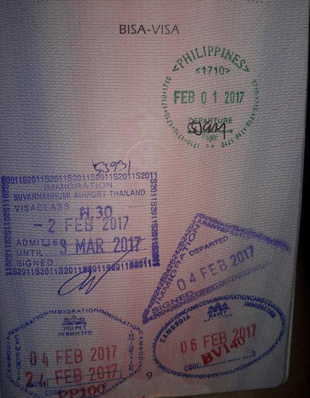 Aranyaprathet Poipet border