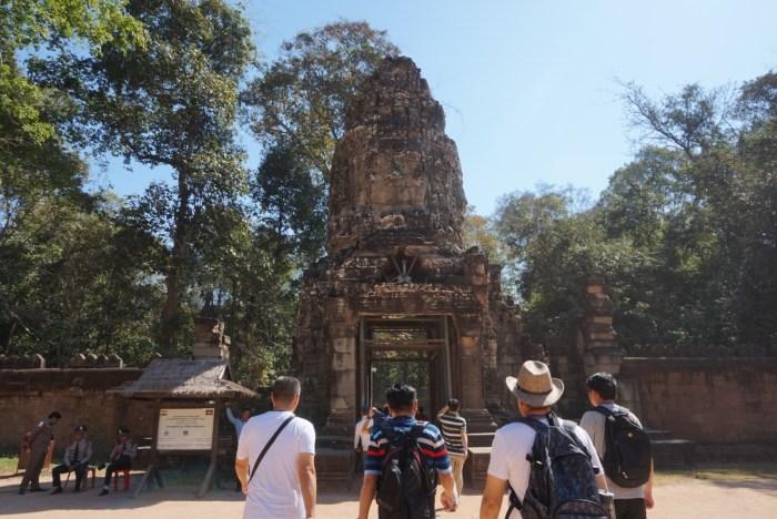 Walking in Siem Reap