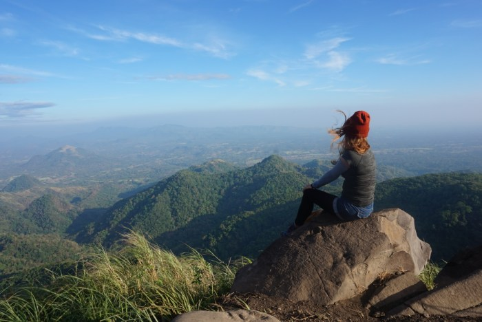 Mt. Apayang summit