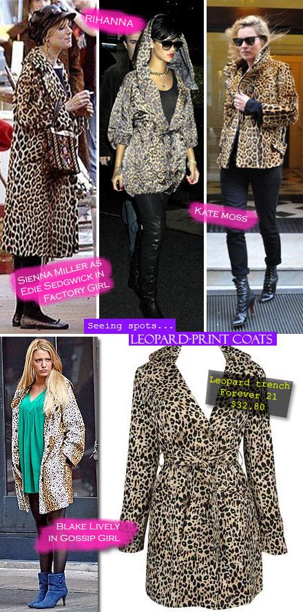 Fall Trend 2009: Leopard-Print Coats