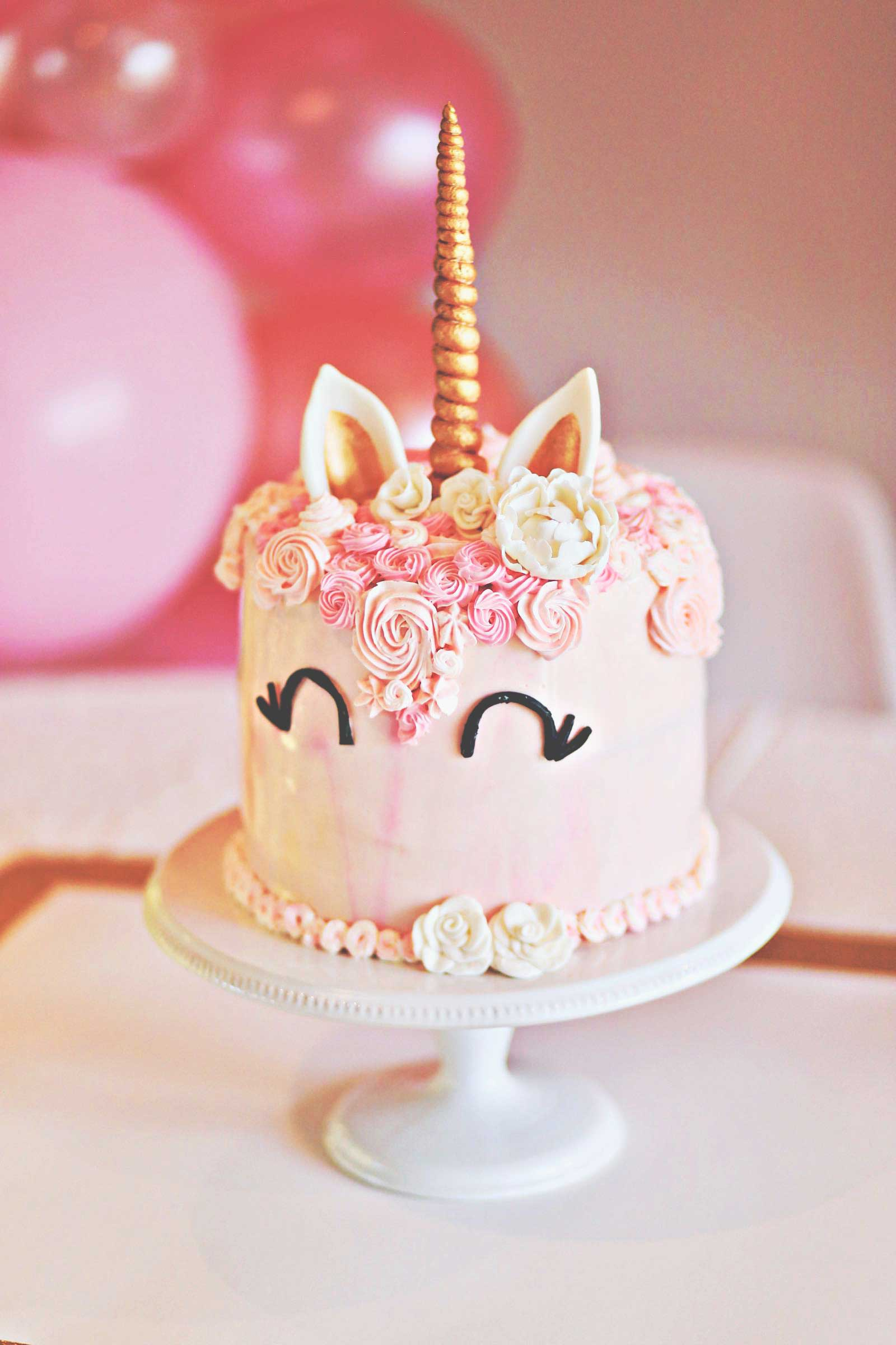Penny S Unicorn Cake Amp Party The Budget Babe