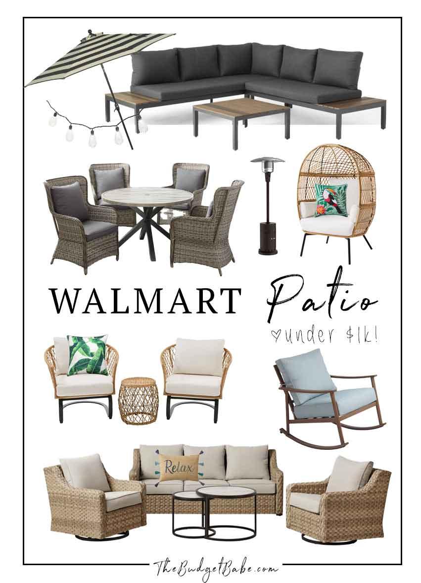 walmart patio picks on a budget