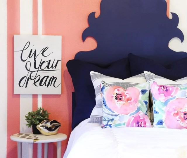 Teen Bedroom Decorating Ideas Add Pattern