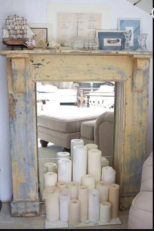 DIY Faux Fireplace Ideas Amp Projects The Budget Decorator
