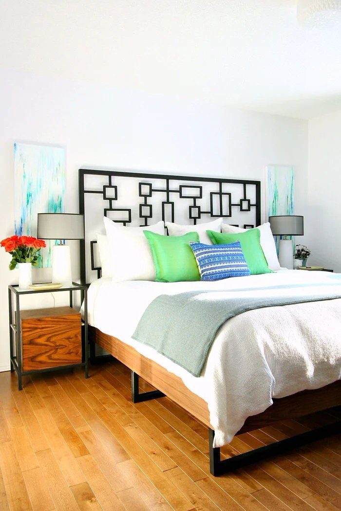 18 gorgeous diy bed frames • the budget decorator
