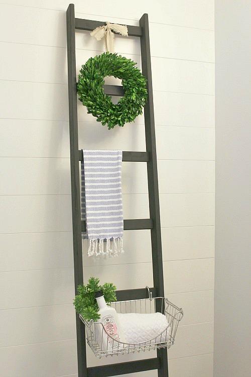 Bathroom Decor Ladder