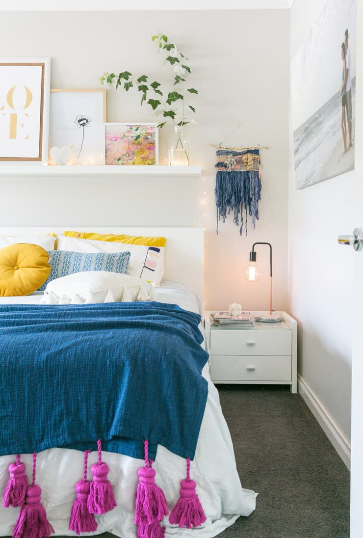 Charming But Cheap Bedroom Decorating Ideas • The Budget ... on Cheap Bedroom Ideas  id=78675