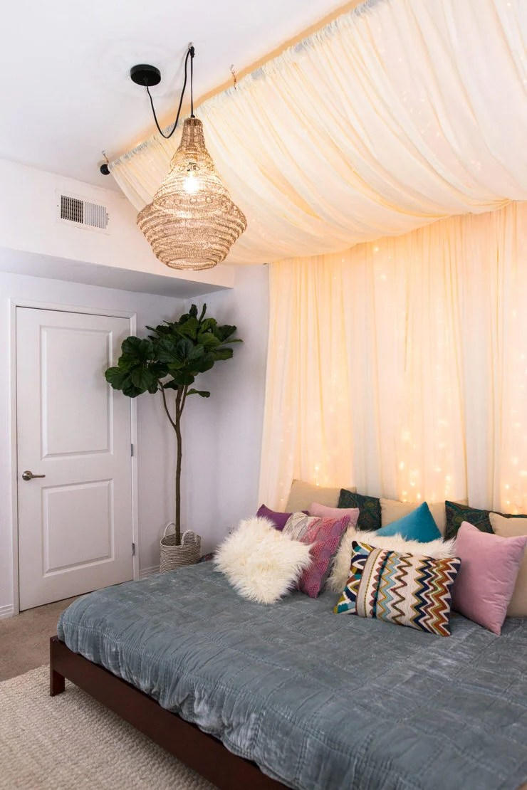 Charming But Cheap Bedroom Decorating Ideas • The Budget ... on Cheap Bedroom Ideas  id=38457