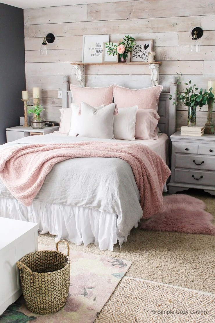 Charming But Cheap Bedroom Decorating Ideas • The Budget ... on Cheap Bedroom Ideas  id=45532