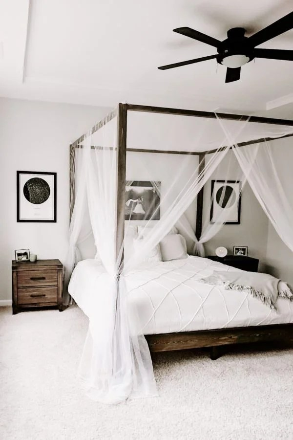 Charming But Cheap Bedroom Decorating Ideas • The Budget ... on Cheap Bedroom Ideas  id=97539