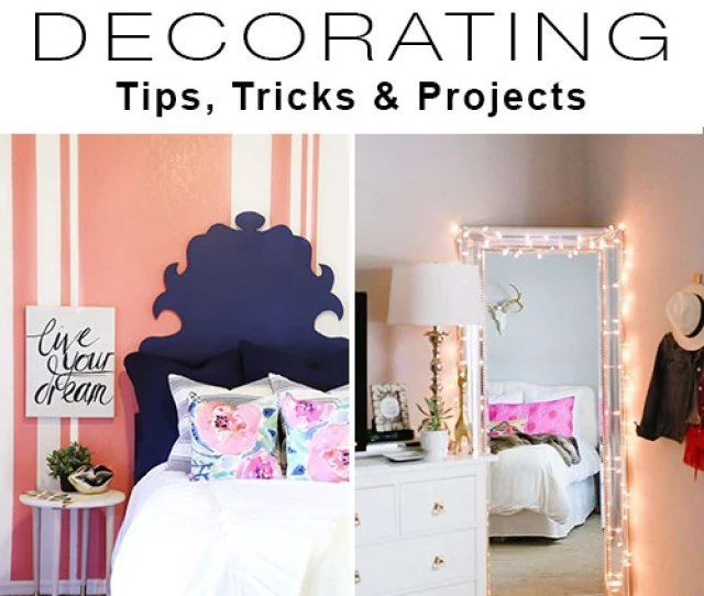 Teen Bedroom Decorating Tips Projects