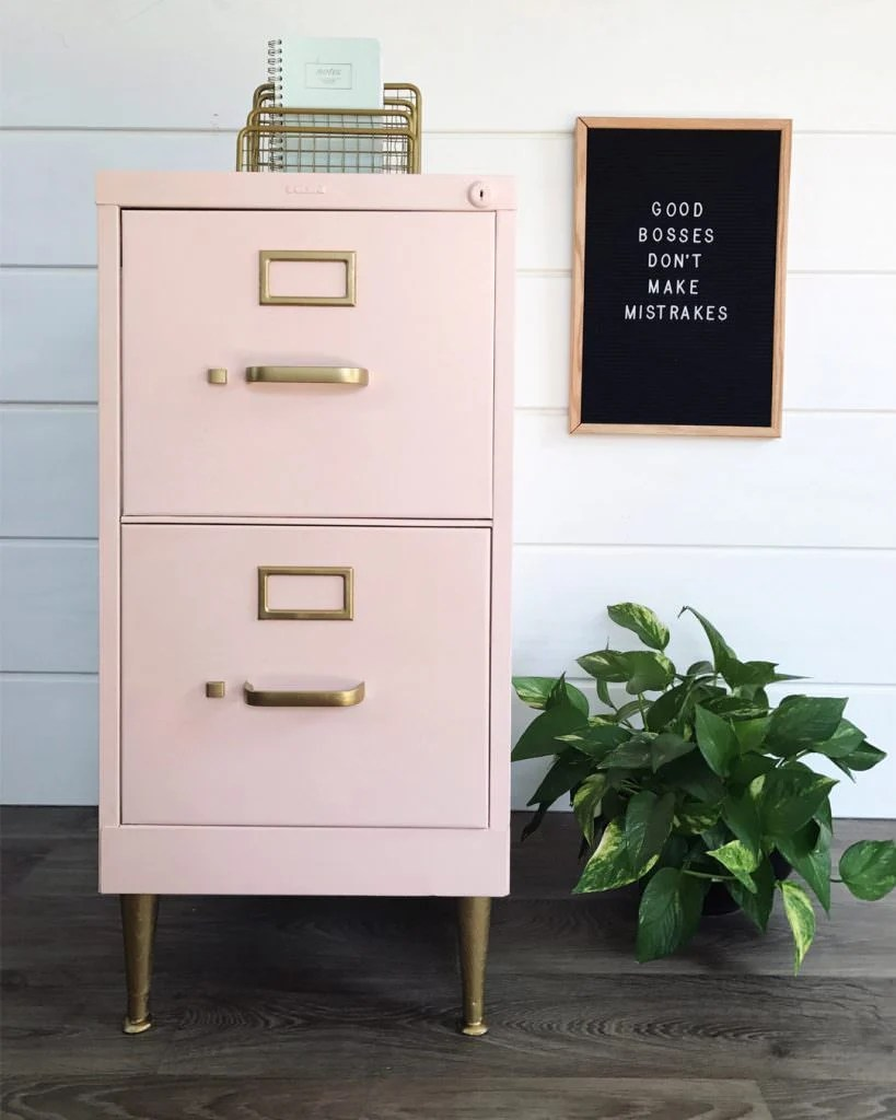 12 Fabulous Filing Cabinet Makeovers The Budget Decorator