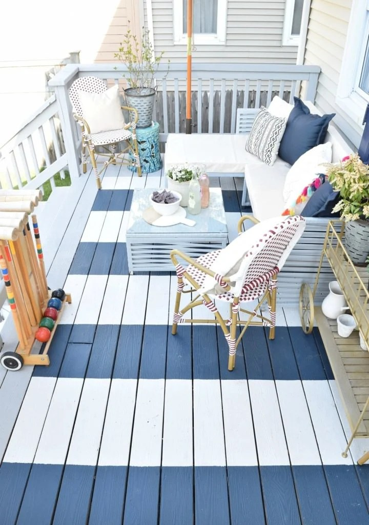 12 DIY Backyard Ideas for Patios, Porches and Decks • The ... on Back Patio Porch Ideas id=39000
