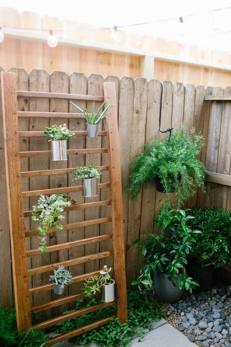 12 DIY Backyard Ideas for Patios, Porches and Decks • The ... on Diy Small Patio Ideas id=13115