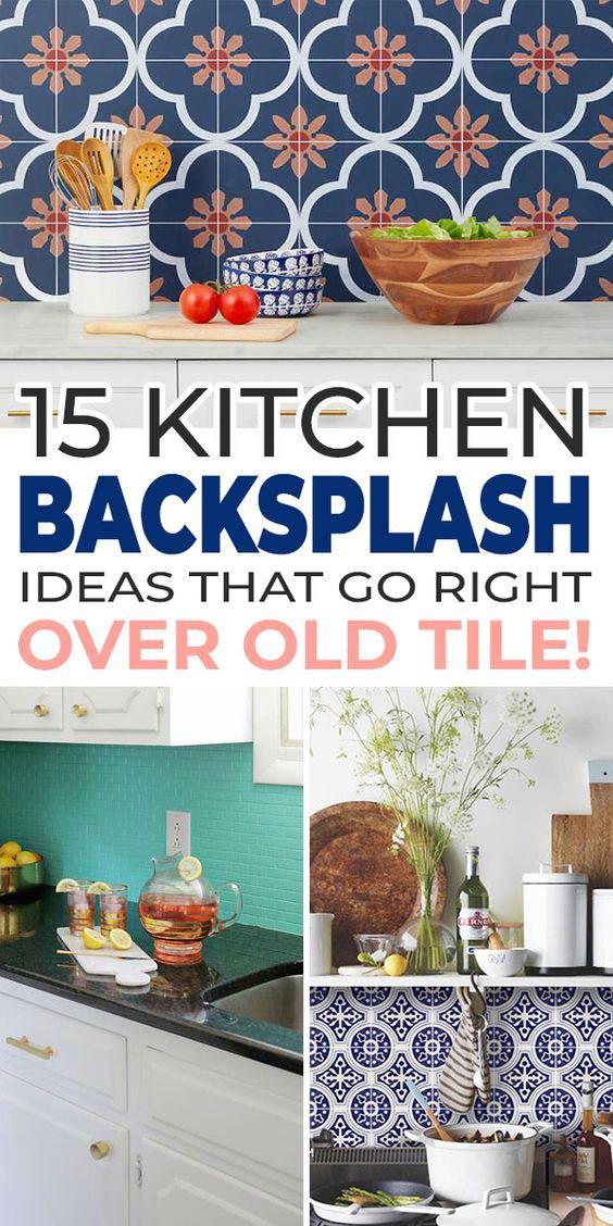 15 kitchen backsplash ideas that go