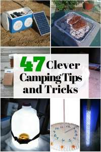 47 Clever Camping Tips And Tricks The Budget Die