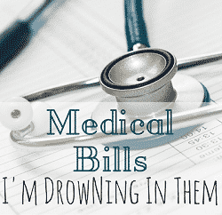 Medical Bills - I'm Drowning In Them Feature Image