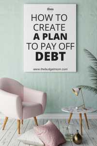 If you are overloaded with debt, trying to figure out the best way to pay it off can seem overwhelming. If you don't even know where to begin to start eliminating your debt, don't miss this step-by-step guide on how to create a plan to pay it off.