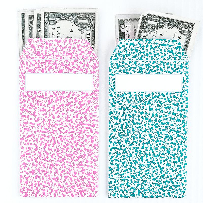 Printable Vertical Cash Envelopes
