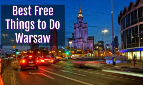 8 Best Free Things to Do in Warsaw Poland | Right Now!