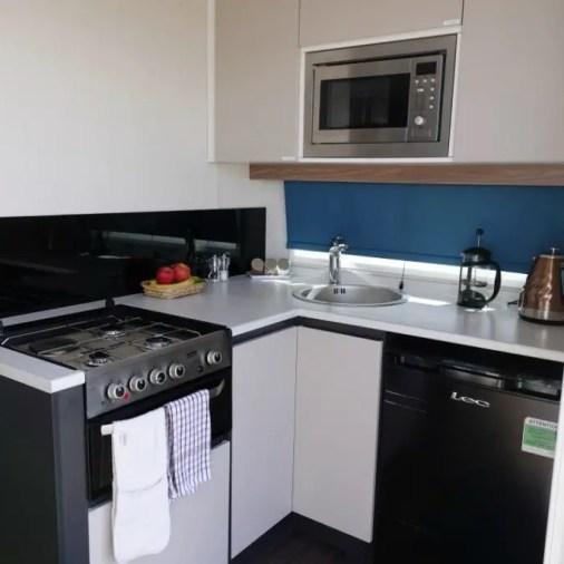 CaraPod Kitchen | Best Glamping Holidays in Scotland