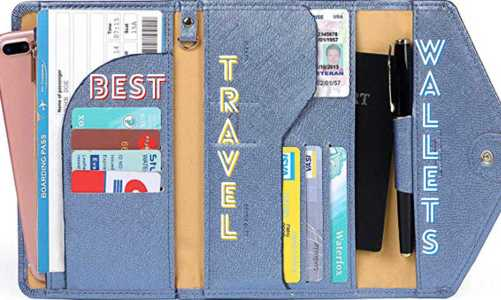 Best Wallets For Traveling | Travel and Passport Wallets With Modern Features