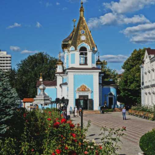 Chisinau Moldova Blue Church