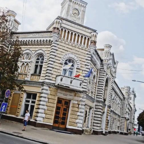 Chisinau Moldova City Hall
