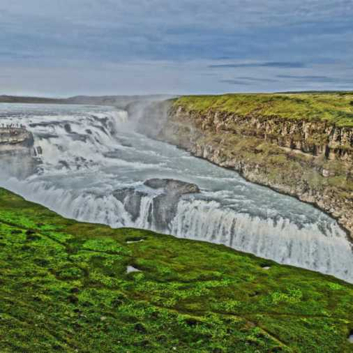 Gullfoss Waterfall Iceland Do Differently