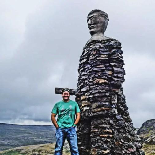 Iceland Rock Statue Bíldudalur Iceland Itinerary