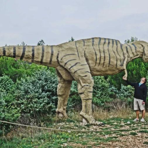 Istria Croatia Locating Dinosaur Footprints on the Kamenjak Peninsula
